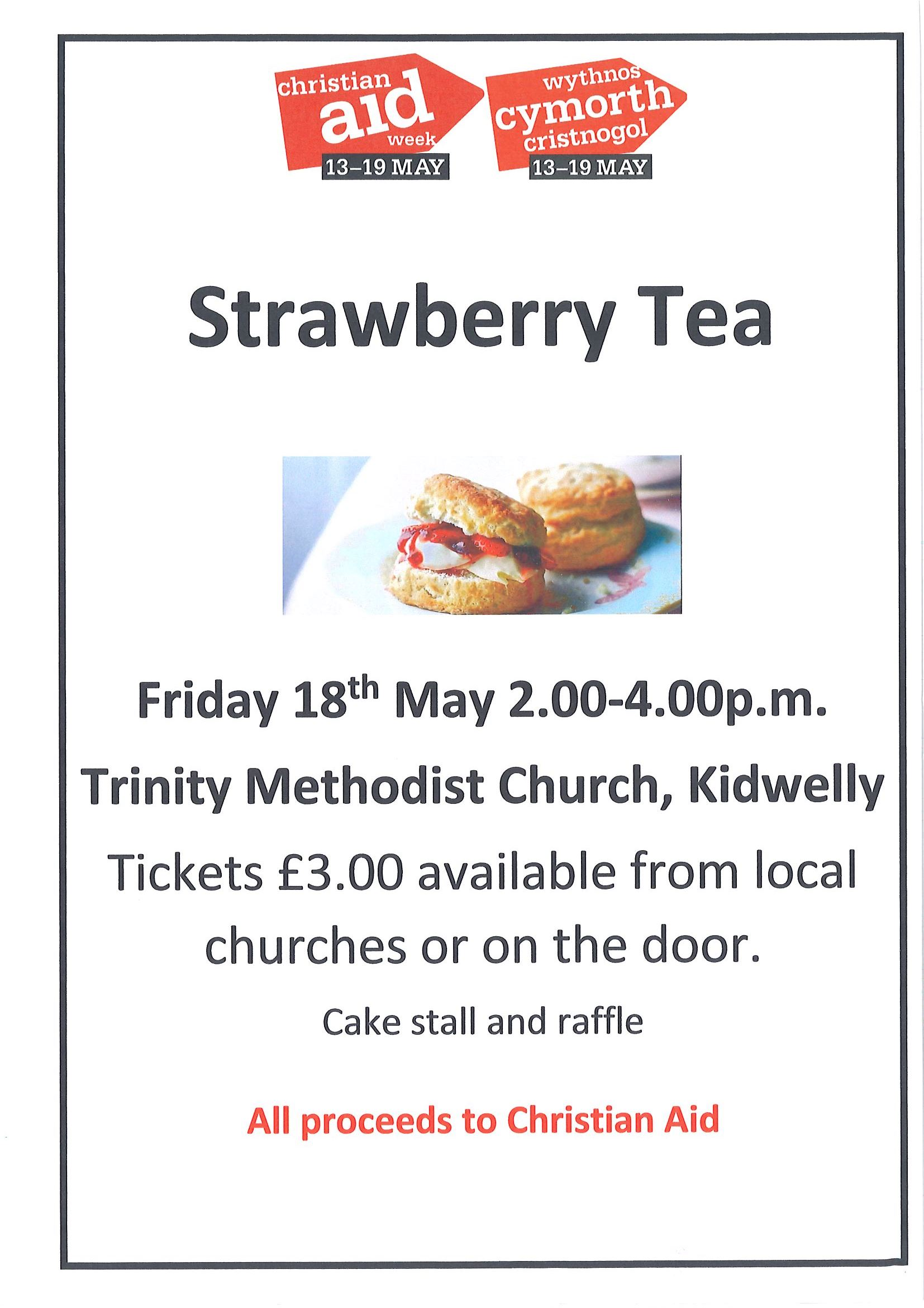 Strawberry Tea at Trinity Church