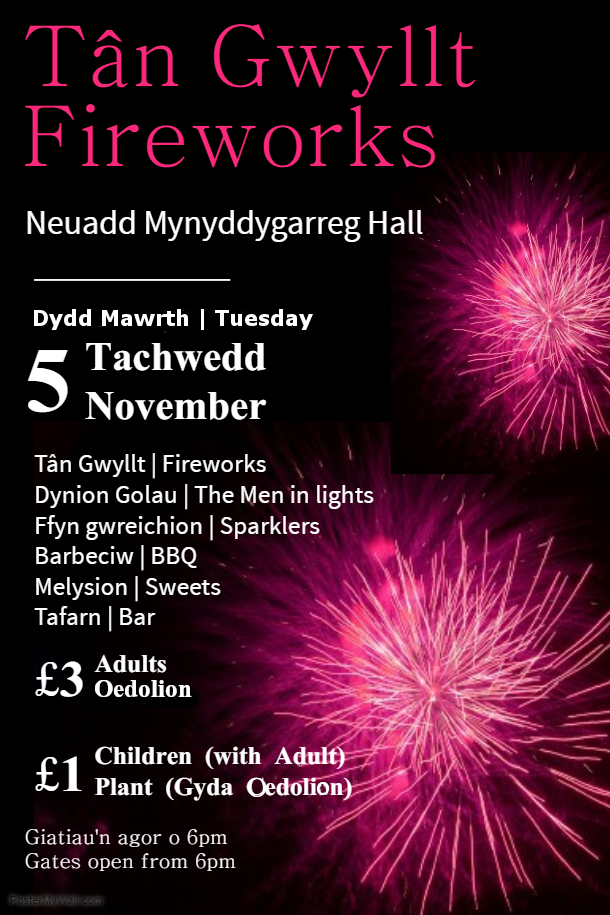 Fireworks Night MYG 2019