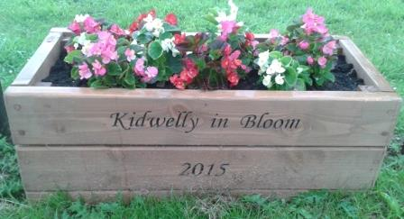 Flower box in Kidwelly